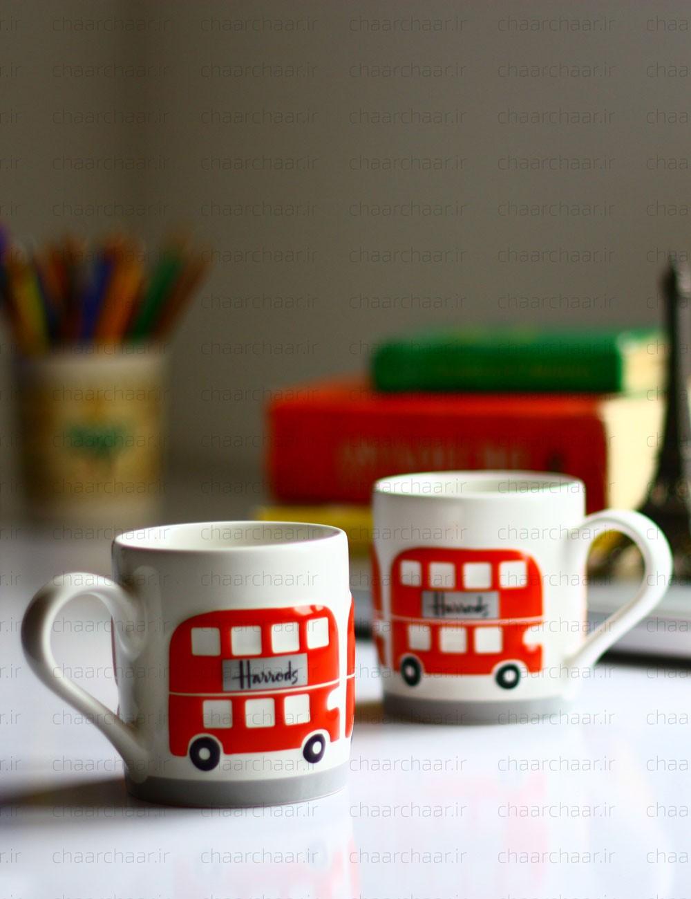 ماگ اتوبوس لندن